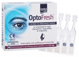 Intermed Optofresh, 10 Αμπούλες