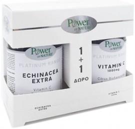 Power Health Echinacea Extra 30 Tαμπλέτες & Δώρο Vitamin C 1000mg 20 Ταμπλέτες