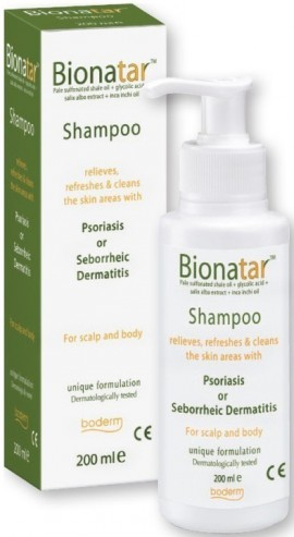 Boderm Bionatar Shampoo, 200ml