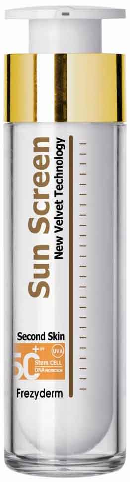 Frezyderm Sun Screen Velvet Face Cream SPF50+, 50ml