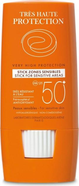 Avene Stick Zones Sensibles SPF50+, 8gr