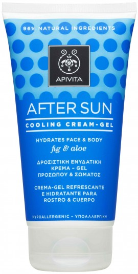 Apivita After Sun Cooling Cream- Gel, 150ml