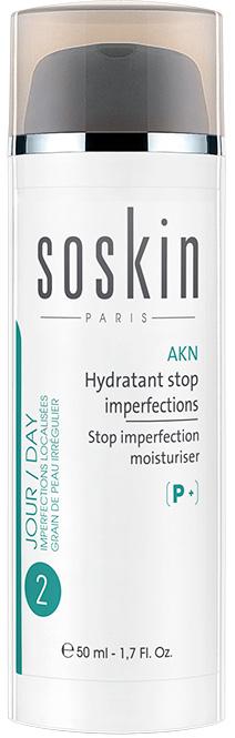 Soskin P+ Akn Stop Imperfection Moisturiser, 50ml