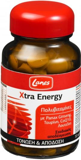 Lanes Xtra Energy, 30 Ταμπλέτες