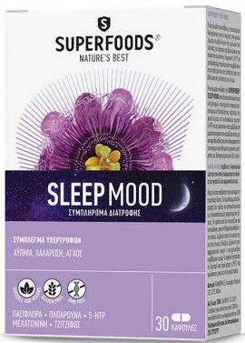 Superfoods Sleep Mood, 30 Κάψουλες