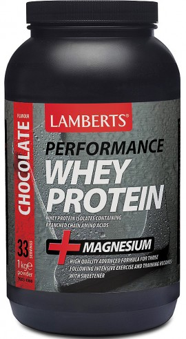 Lamberts Performance Whey Protein Σοκολάτα, 1000gr