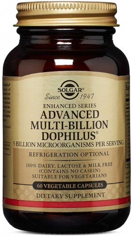 Solgar Advanced Multi -Billion Dophilus, 60 Κάψουλες