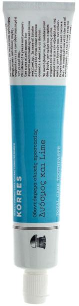 Korres Οδοντόκρεμα Ολικής Προστασίας Με Δυόσμο & Lime, 75ml