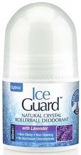 Optima Ice Guard Roll On Με Αρώμα Λεβάντα, 50ml