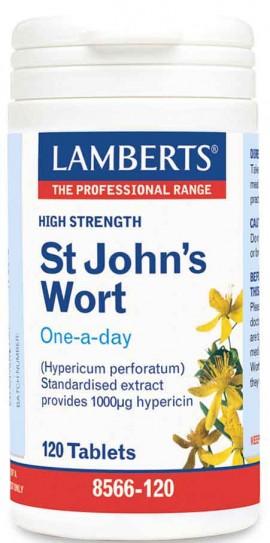 Lamberts St. Johns Wort 1332mg, 120 Ταμπλέτες