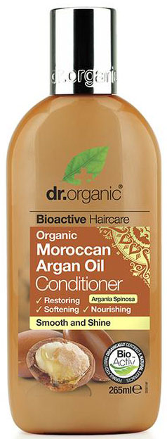 Dr. Organic Moroccan Argan Oil Conditioner, 265ml