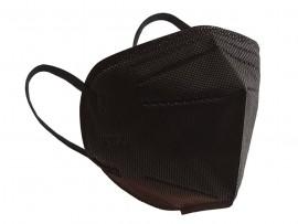 Μάσκα Υψηλής Προστασίας ΚΝ95 Mαύρη, 1 Tεμάχιο