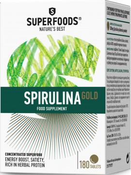 Superfoods Σπιρουλίνα, 180 Ταμπλέτες
