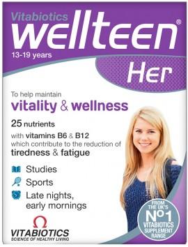 Vitabiotics Wellteen Her, 30 Tαμπλέτες