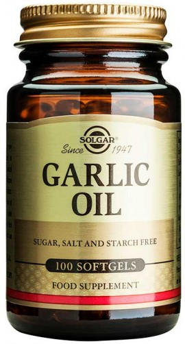 Solgar Garlic Oil, 100 Κάψουλες