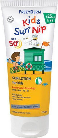 Frezyderm Sun Screen Kids Nip SPF50+, 150ml & Δώρο 25ml