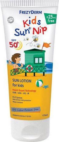 Frezyderm Sun Screen Kids Nip SPF50+, 150ml & Δώρο 25ml