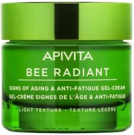 Apivita Bee Radiant Peony & Propolis Kρέμα Ελαφριάς Υφής, 50ml