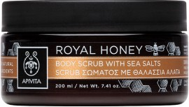 Apivita Royal Honey Body Scrub, 200gr