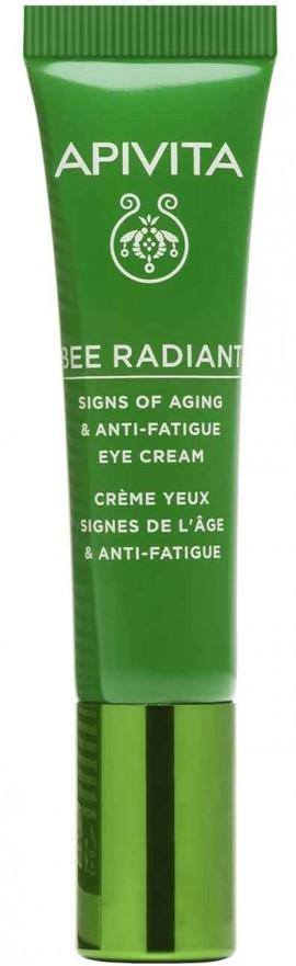 Apivita Bee Radiant Eye Cream with Peony Κρέμα Ματιών,15ml