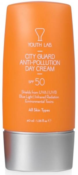 Youth Lab City Guard Anti-Pollution Day Cream SPF50, 40ml
