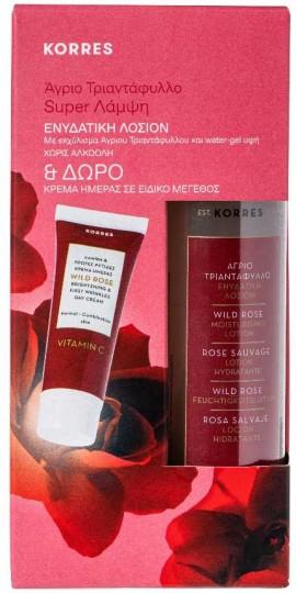 Korres Promo Άγριο Τριαντάφυλλο Ενυδατική Λοσιόν 150ml & Δώρο Κρέμα Ημέρας 15ml