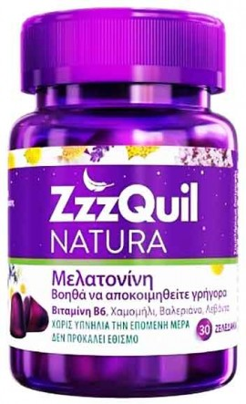 ZZZQUIL NATURA, 30 Ζελεδάκια