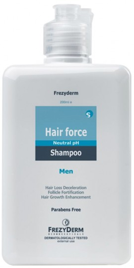 Frezyderm  Hair Force Shampoo Men, 200ml
