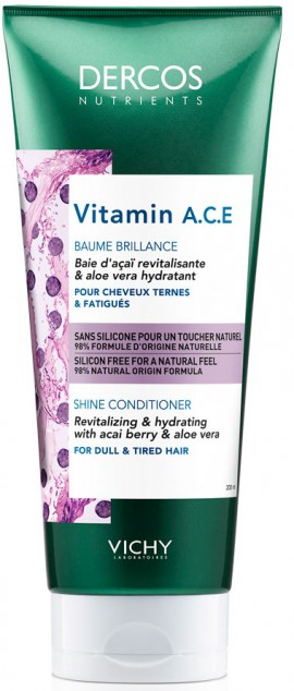 Vichy Dercos Nutrients Vitamine A.C.E Conditioner, 250ml