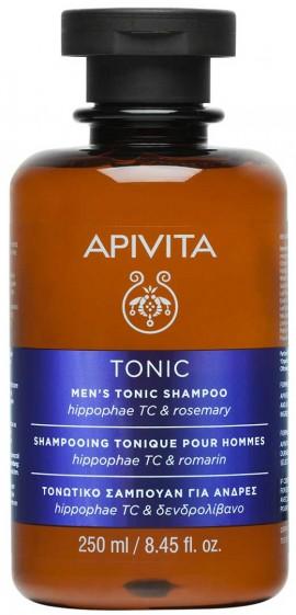 Apivita Mens Tonic Σαμπουάν Για Άνδρες Με Ιπποφαές & Δενδρολίβανο, 250ml