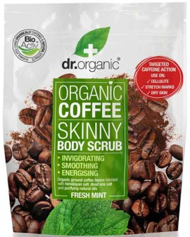 Dr. Organic Coffe Skinny Body Scrub, 200ml