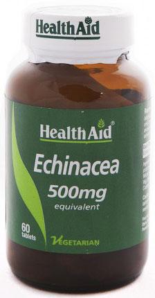 Health Aid Echinacea 500mg, 60 Ταμπλέτες