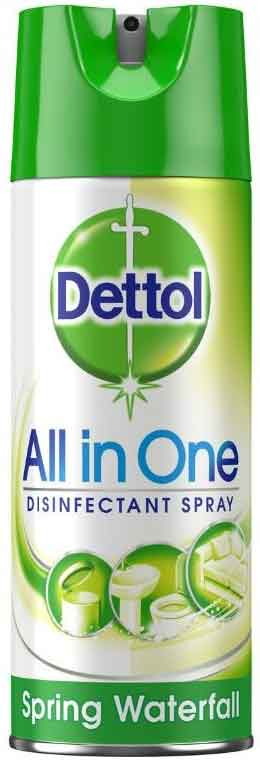 Dettol Spray Spring Waterfall, 400ml