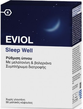 Eviol Sleep Well, 30 Κάψουλες