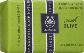 Apivita Σαπούνι Με Ελιά,125gr