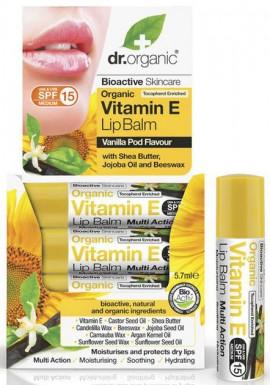 Dr. Organic Vitamin E Lipbalm, 5.7ml