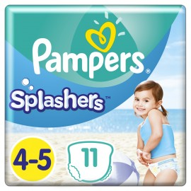 Pampers Splashers No4-5 (9- 15 kg), 11 Τεμάχια