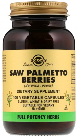 Solgar Saw Palmento Berries, 100 Κάψουλες