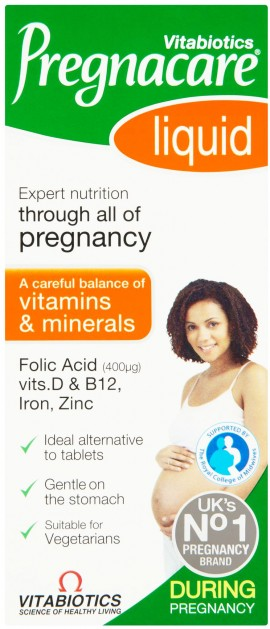 Vitabiotics - Pregnacare Liquid, 200ml