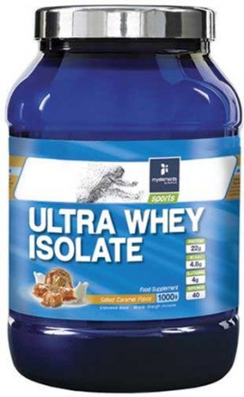 My Elements Ultra Whey Isolate Salted Caramel, 1Kg