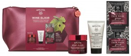 Apivita Promo Wine Elixir Κρέμα Αντιρυτιδική Πλούσιας Υφης 50ml & Δώρο Cleansing Milk 3σε1 50ml & Δώρο Express Mask Anti-Wrinkle Grape 2x8ml