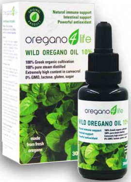 Oregano 4 Life Wild Oregano Oil 10%, 30ml