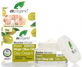 Dr. Organic Virgin Olive Oil Day Cream, 50ml