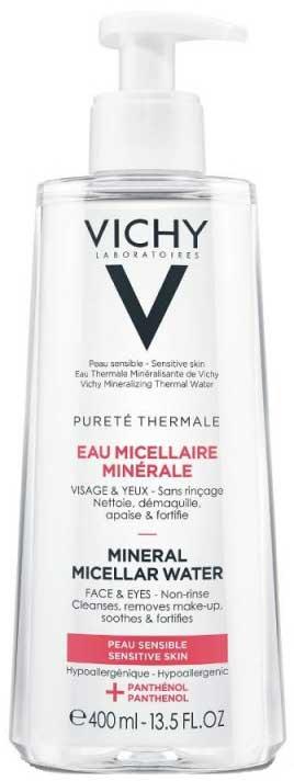 Vichy Purete Thermale Eau Micellar Minerale Water Ευαίσθητη Επιδερμίδα, 400ml