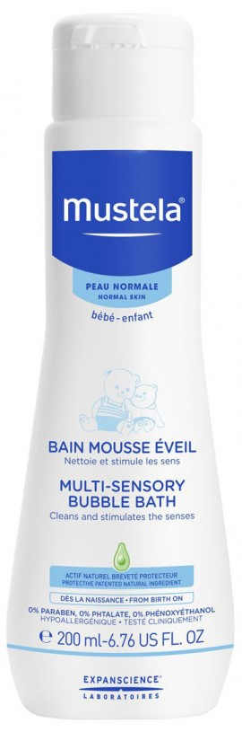 Mustela Multi- Sensory Bubble Bath, 200ml