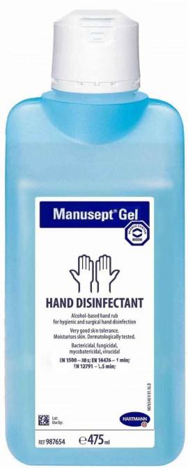 Hartman Manusept Αντισηπτικό Gel Χεριών, 475ml