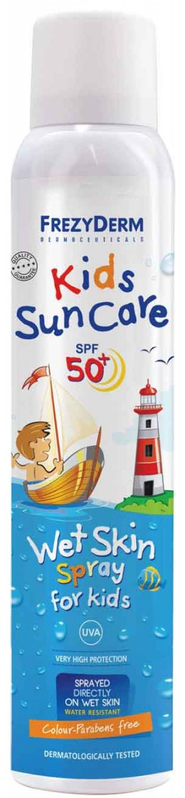 Frezyderm Kids Sun Care Wet Skin Spray SPF50+, 200ml