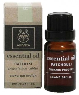 Apivita Essential Oil Πατσουλί, 10ml