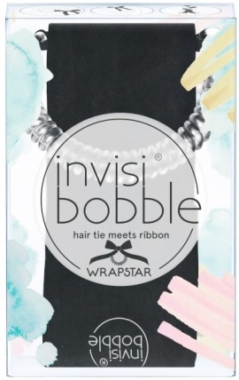 Invisibobble Wrapstar Snake It Off Black, 1 Τεμάχιο