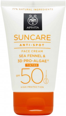 Apivita Sun Care Anti- Spot Tinted SPF50, 50ml